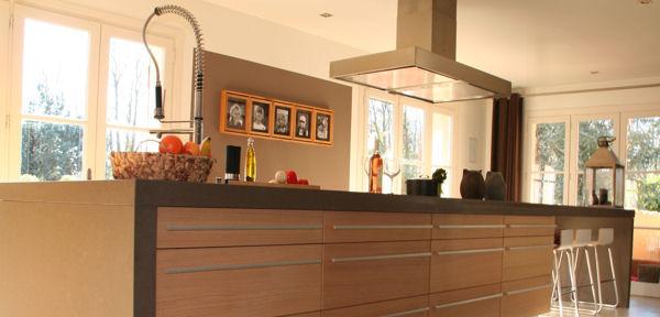 Villa gevanette - Open keuken met kookeiland ...